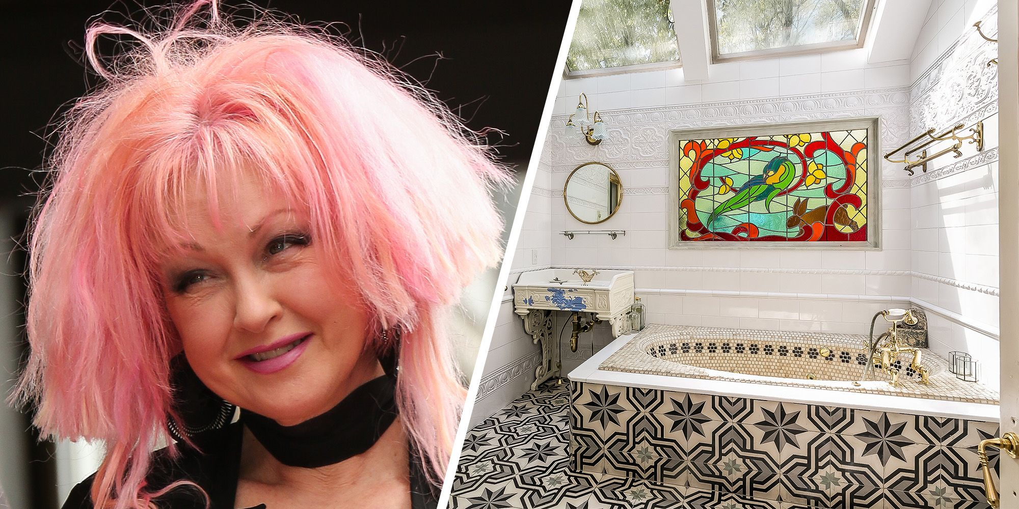 Cyndi Lauper Lists The Connecticut House Where She Wrote Kinky Boots