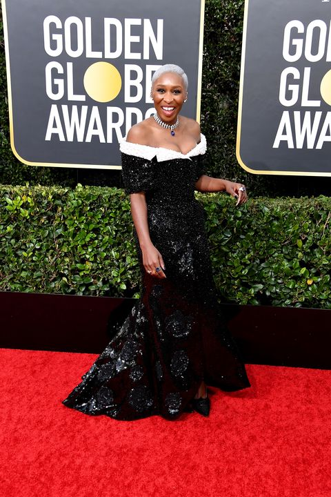 Cynthia Erivo attends the 77th Annual Golden Globe Awards at The Beverly Hilton Hotel on January 05, 2020