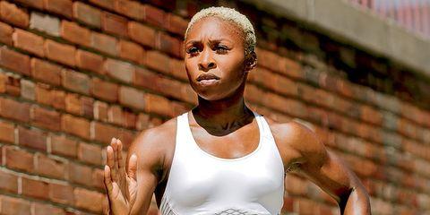 Cynthia Erivo runner