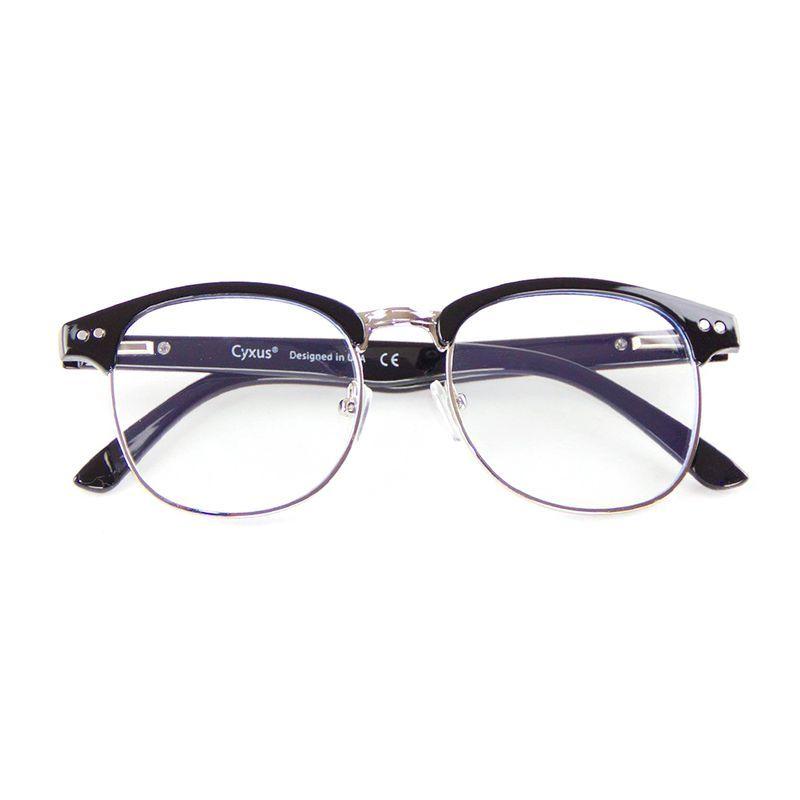 Cyxus Semi-Rimless Computer Glasses