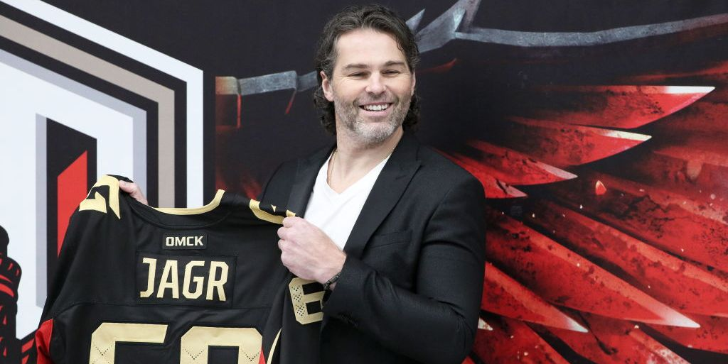 Jaromir Jagr, 48, Set to Return for His 33rd Season of Professional Hockey