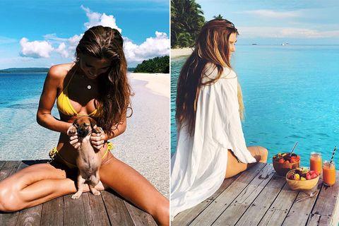 Sjana Elise Earp, IG,瑜珈,辣模,健身運動,憂鬱,長腿,飲食清單,beauty