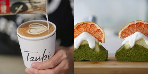 tzubi coffee,咖啡廳,東區,富士山磅蛋糕,戚風蛋糕,林奐,潮流咖啡廳,台北美食,台北必吃