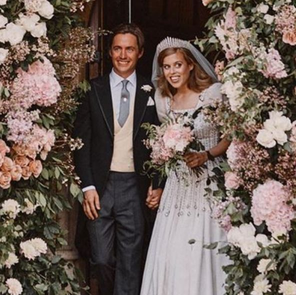 queen elizabeth ii, princess beatrice, 伊莉莎白二世, 皇室婚禮, 碧翠絲公主, 英國女王, 英國皇室