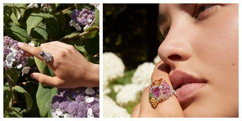 把寶石變成dior調色盤!tie  dior高級珠寶:延續2020春夏的彩虹詩篇