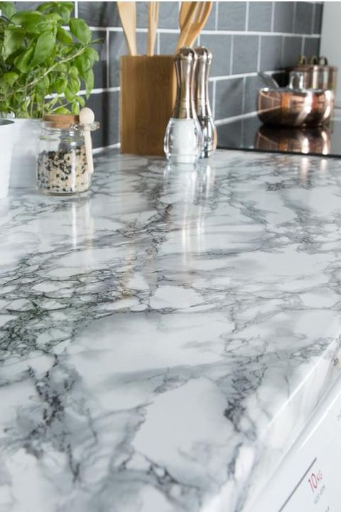 marble contact paper ideas