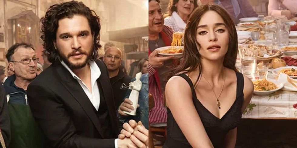 Jon Snow and Daenerys Are Starring in a His & Hers Perfume Ad Campaign
