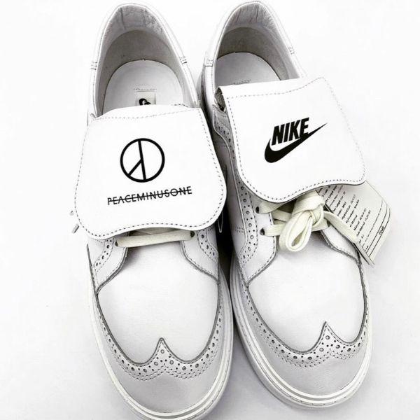 nike gd全新聯名白色小雛菊球鞋