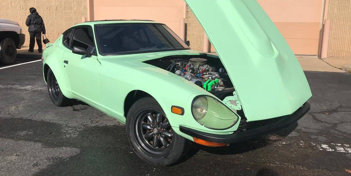V8 Swapped Datsun 260z For Sale Rare Modified 1974 Datsun Sports