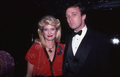 ドナルド・トランプと一人目の妻イヴァナ