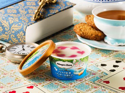 哈根達斯「童話系列」冰淇淋,愛麗絲夢遊仙境和白雪公主