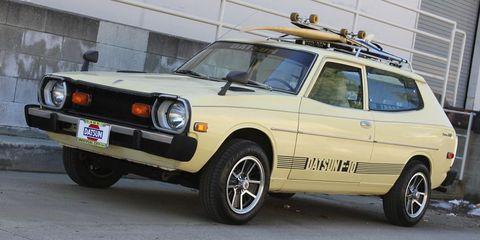 Land vehicle, Vehicle, Car, Classic car, Sedan, Coupé, Family car, Nissan,