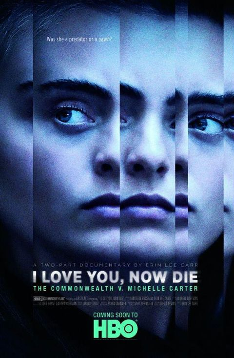 i love you, now die poster
