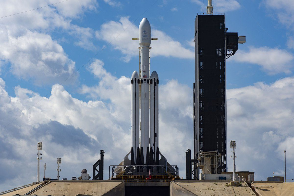SpaceX Is Ready to Launch the Falcon Heavy for the Second Time Ever