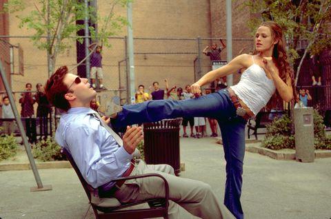 Ben Affleck and Jennifer Garner in 'Daredevil'