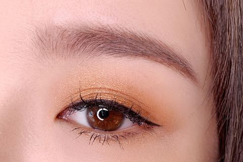 Eyebrow, Face, Eyelash, Eye, Hair, Eye shadow, Skin, Close-up, Organ, Beauty,