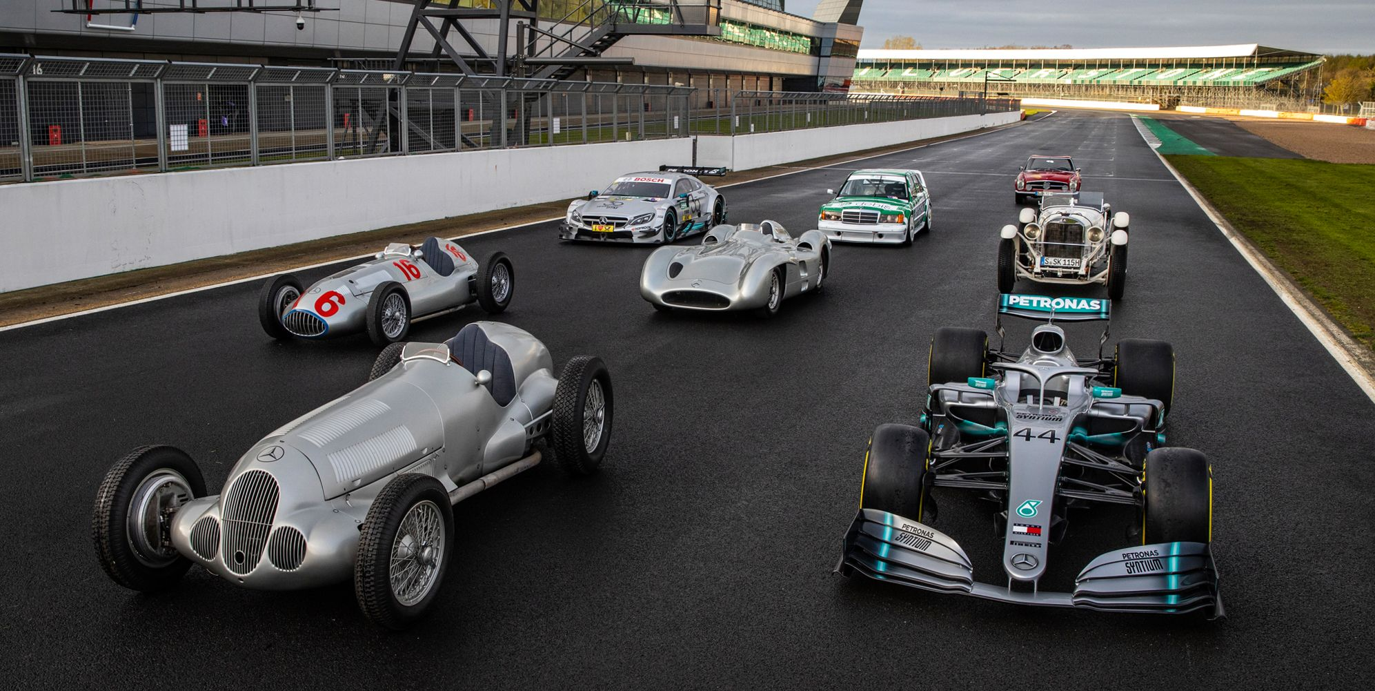 Mercedes-Benz Rolls Out All its Greatest Racing Cars to Celebrate 125 Years in Motorsports