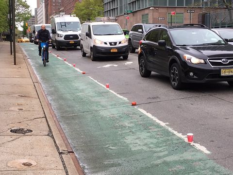 Red Cup Project bike lanes