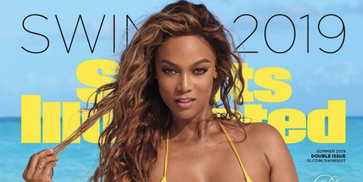 603417b2b Tyra Banks Graces  Sports Illustrated Swimsuit  Cover — Tyra Comes Out of  Modeling Retirement