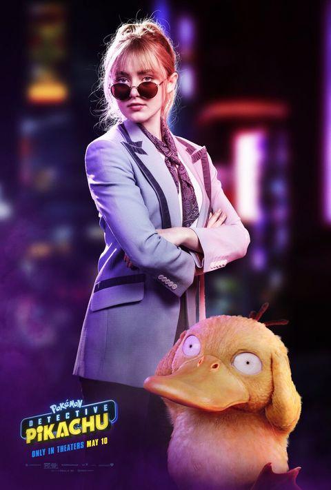 《名偵探皮卡丘》22歲女主角爆紅!凱瑟琳紐頓「小圓臉+大眼睛」完全是宅男的菜!