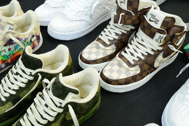 Nike and Louis Vuitton