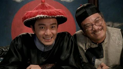 吳孟達搭檔周星馳,《九品芝麻官》劇照