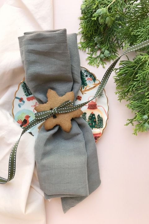 Christmas Crafts - Gingerbread Napkin Holder