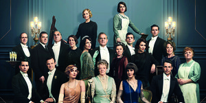 "Cartel de ""Downton Abbey"""
