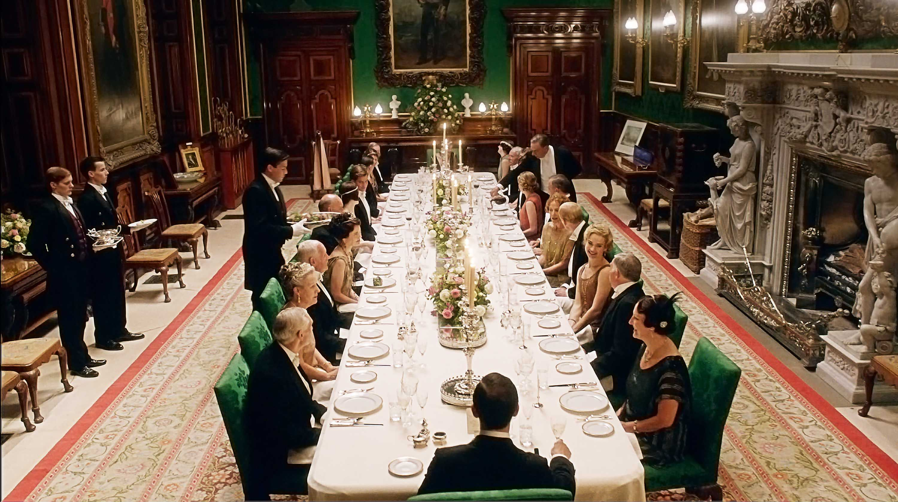 Dine like a Downton Abbey guest