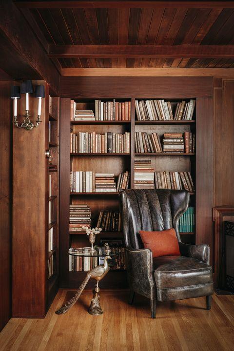 Furniture, Room, Bookcase, Shelving, Interior design, Shelf, Building, Wood, Hardwood, Floor,