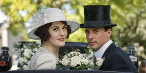 Lady Mary Henry Talbot Downton Abbey