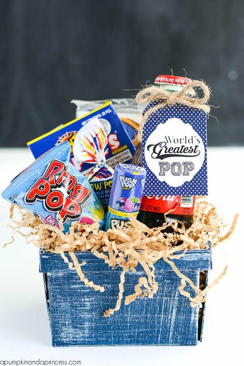 pop gift basket