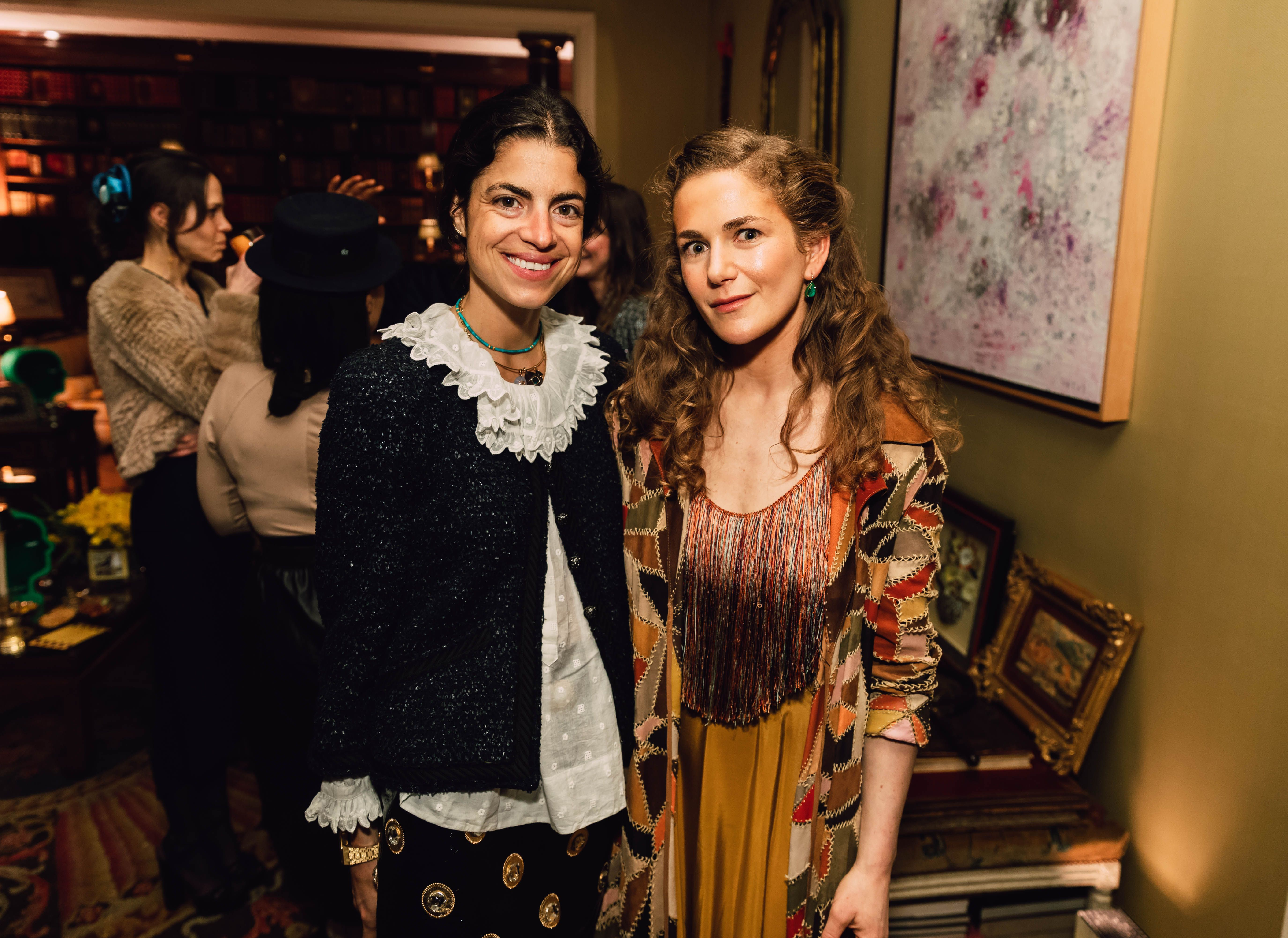 Leandra Medine Cohen and Claire Olshan Leandra Medine Cohen and Claire Olshan celebrate the launch of Claire Olshan's snack brand, Dada Daily in collaboration with StoryCourse on March 28.