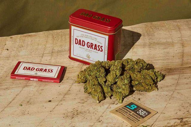dad grass flower