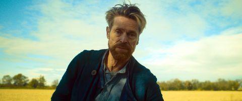 William Dafoe en Van Gogh a las puertas de la eternidad
