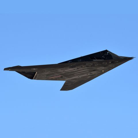 Airplane, Aircraft, Stealth aircraft, Northrop grumman b-2 spirit, Ground attack aircraft, Flight, Military aircraft, Vehicle, Experimental aircraft, Lockheed Martin,