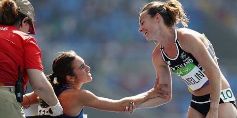 Abbey D'Agostino at Olympics