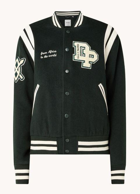 daily paper baseball jacket