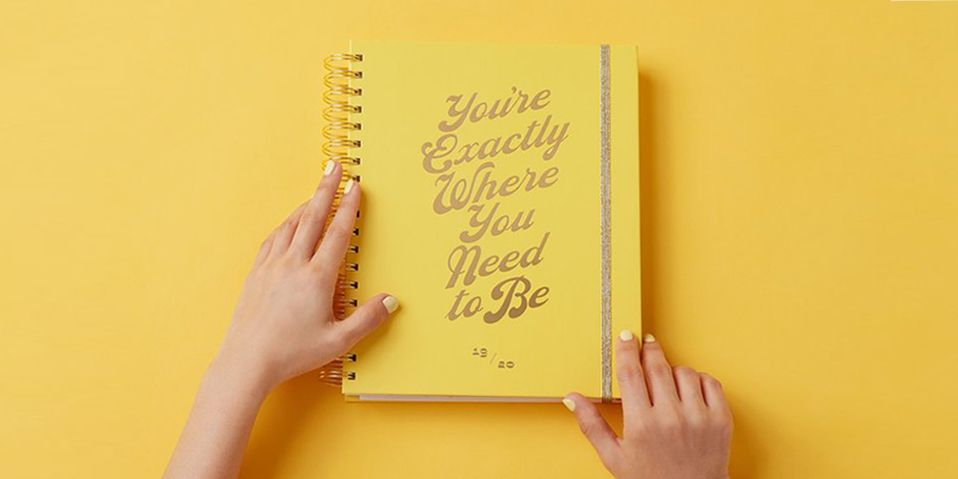 picture about Stylish Planners and Organizers referred to as 12 Great Day by day Planners for Being Well prepared inside 2019