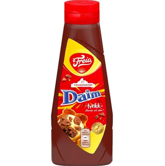 daim chocolate topping sauce