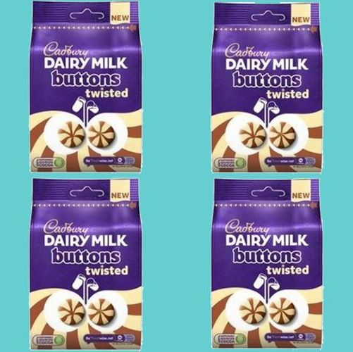 dairy milk twisted buttons
