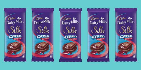 A Red Velvet Oreo Dairy Milk Bar Exists And Its All We Can