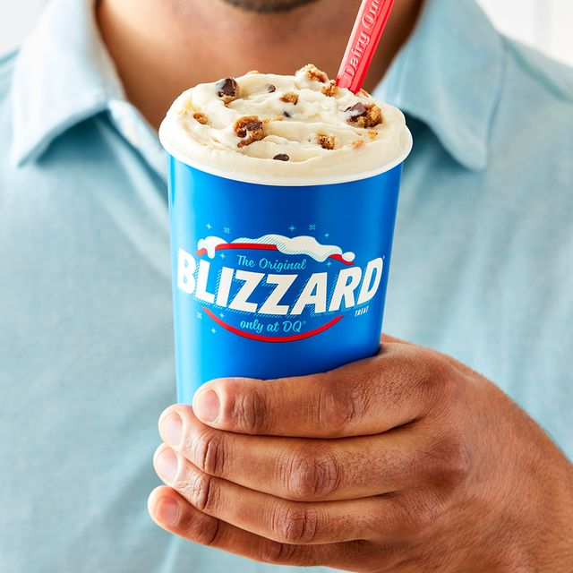 dairy queen nestle toll house chocolate chip cookie blizzard