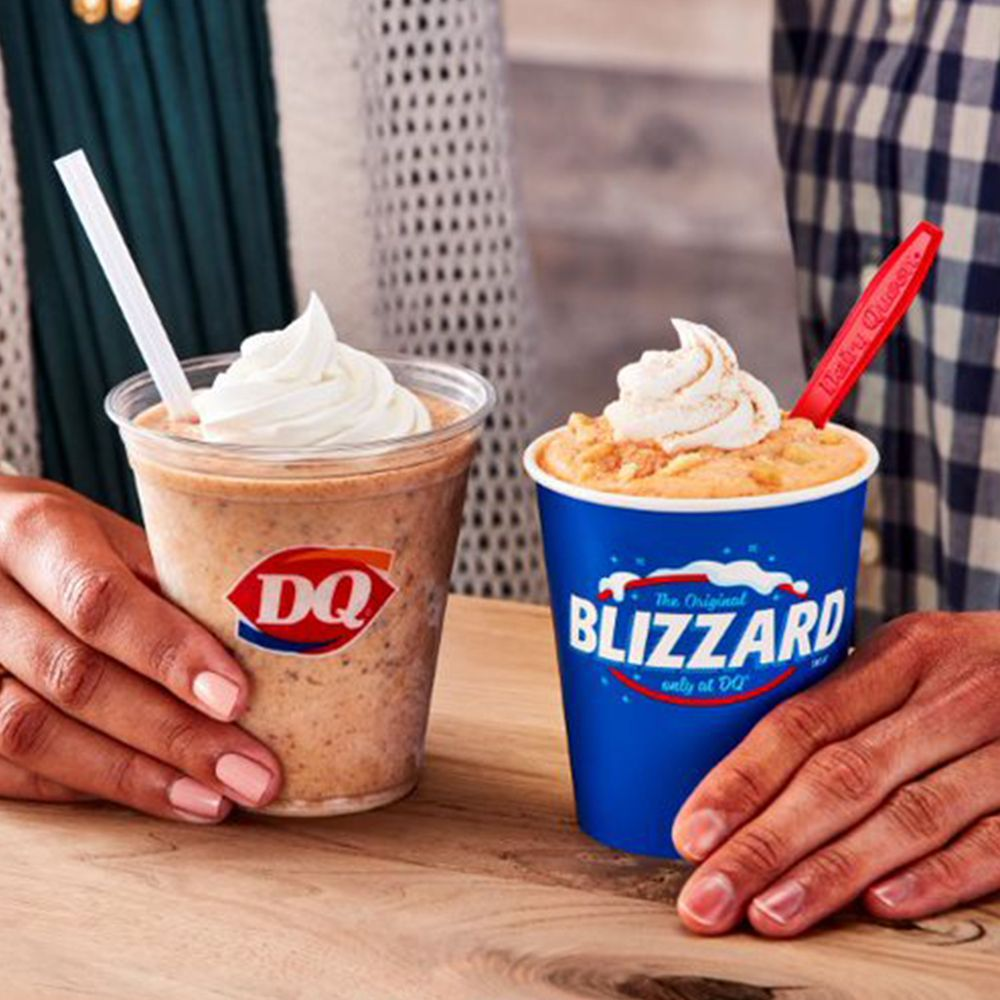 Dairy Queen Is Releasing a New Pumpkin Cookie Butter Shake That's Filled With Fall Spices