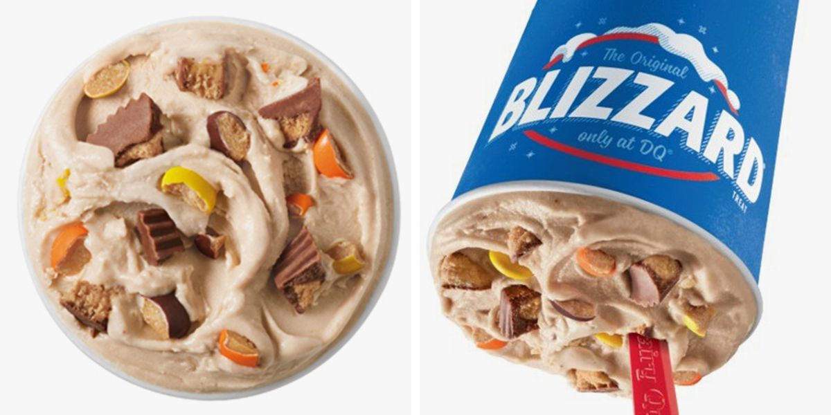 Dairy Queen Is Serving The Reese's Extreme Blizzard That's Filled With Cups AND Pieces