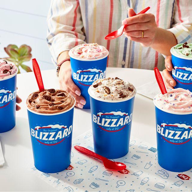 dairy queen 2021 summer blizzard menu