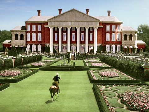 the buchanan estate in the 2013 film adaptation of the great gatsby