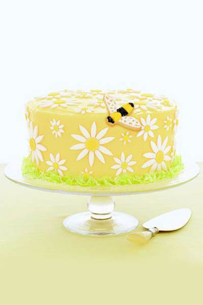 easter cakes - daisy cake