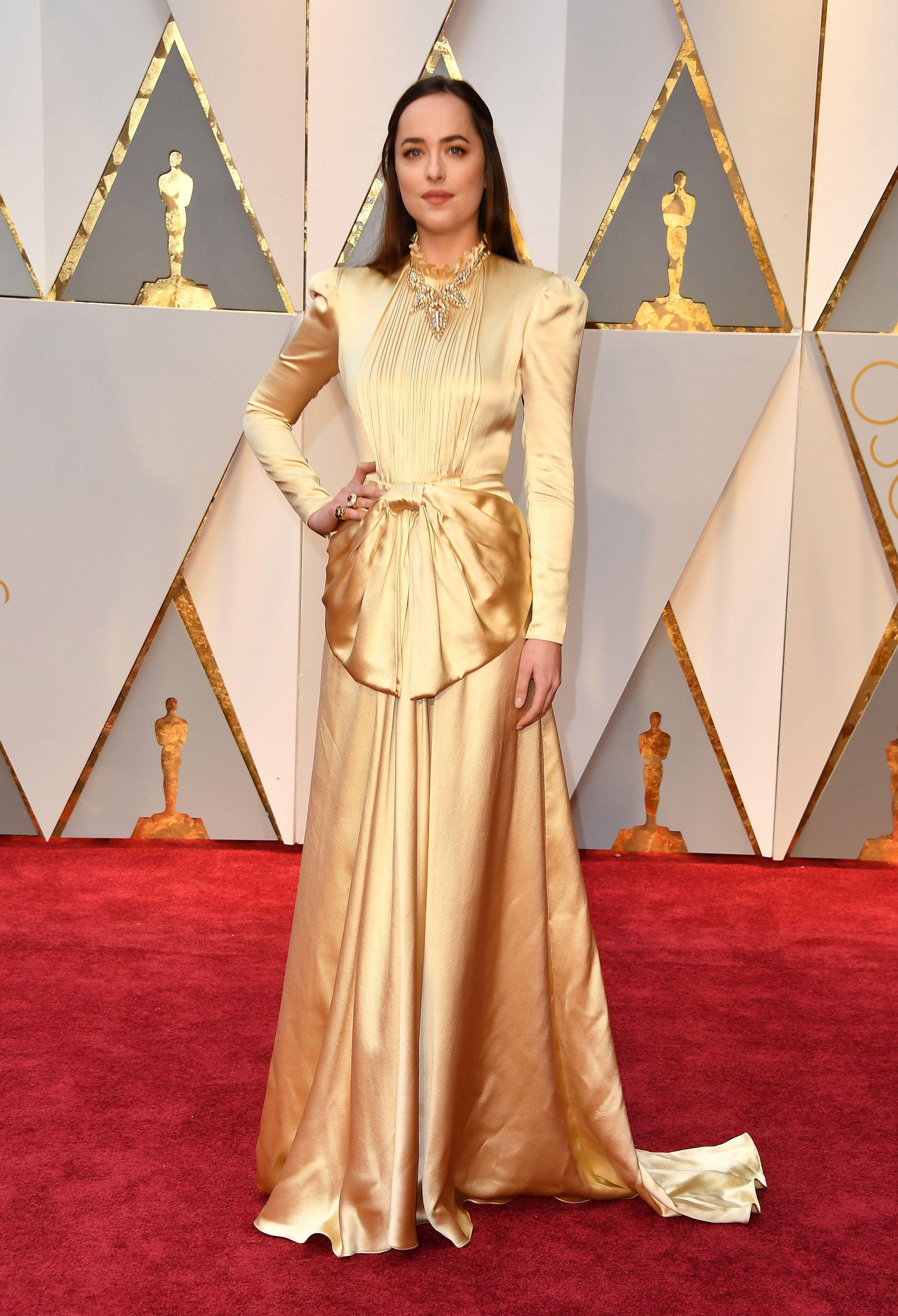 Dakota Johnson Dress on Oscar