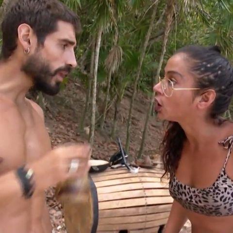 Fabio y Dakota pelea en Supervivientes 2019